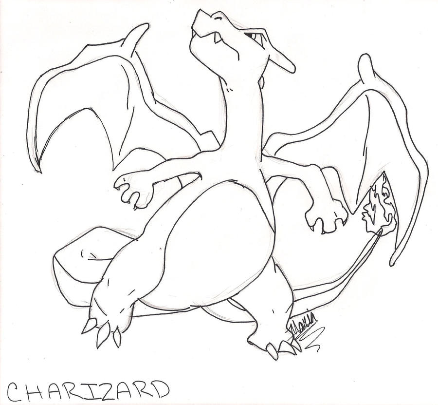 Draw every pokemon charizard by happykeyboardmadness