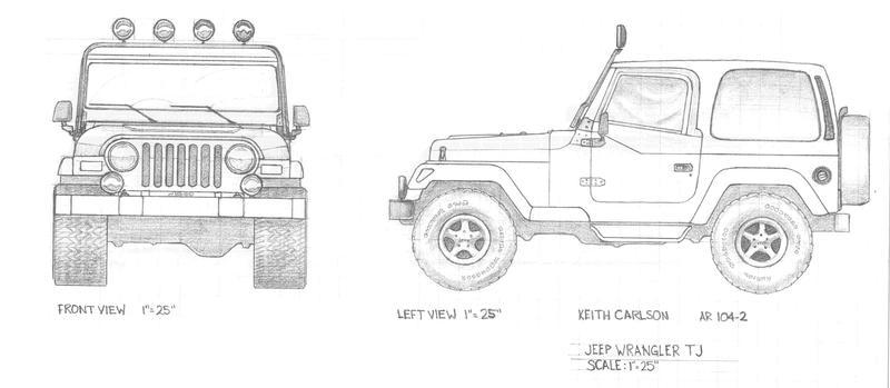 jeep tj by kcarl19 on deviantart