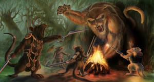 The Fearless Monster Hunters by Elderscroller