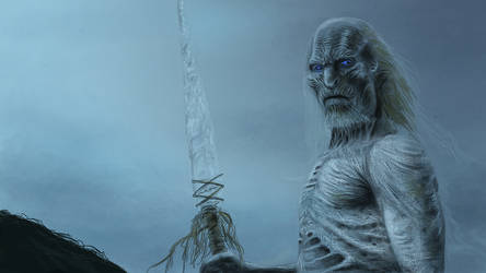 White Walker Color Study by Elderscroller