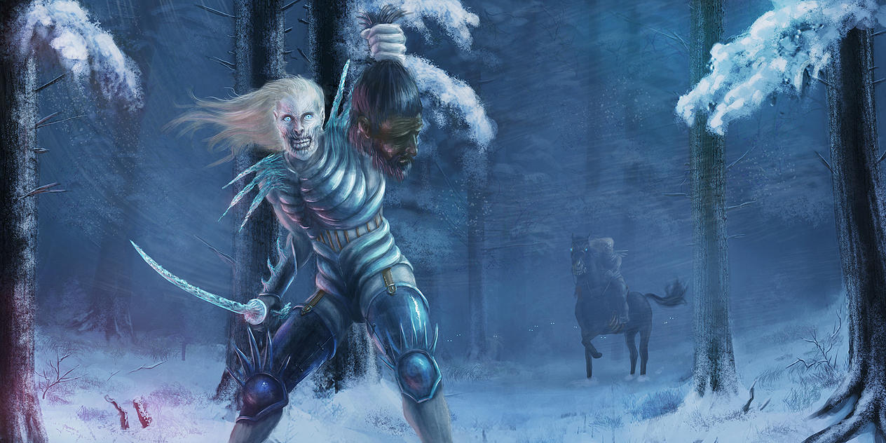 White Walkers Concept by Elderscroller