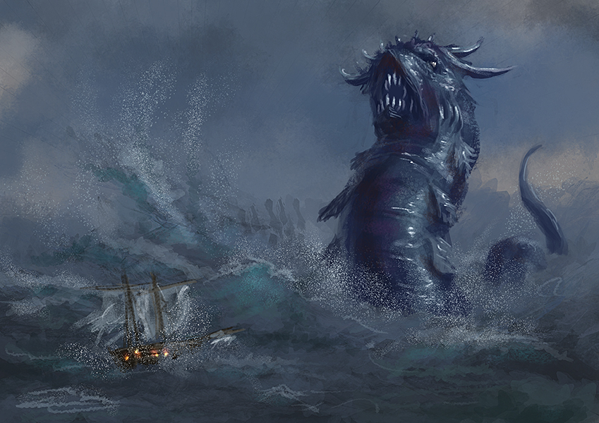 Sea Serpent Speedy by Elderscroller