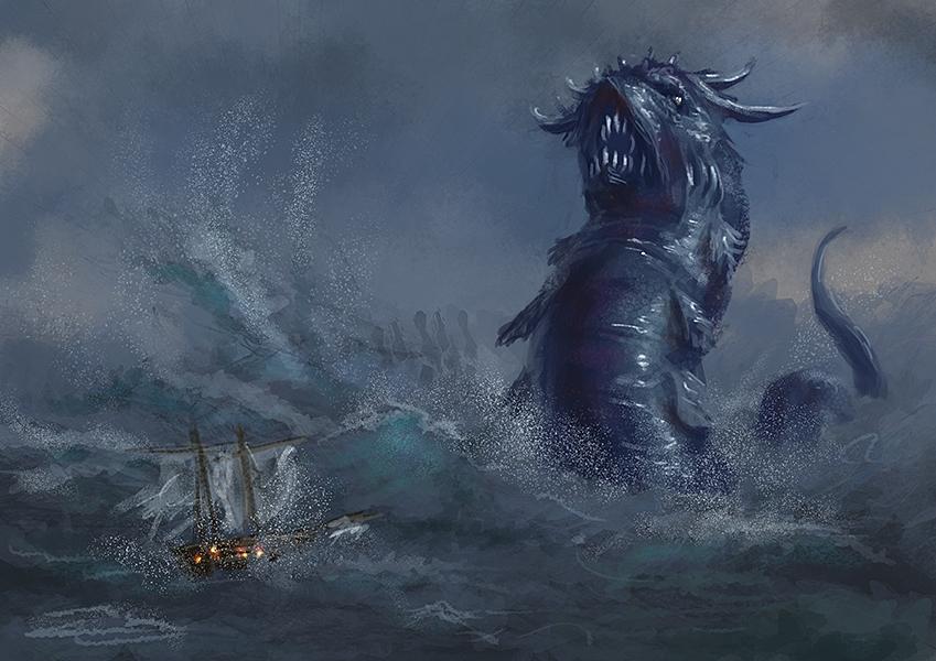 Sea Serpent Speedy by Elderscroller
