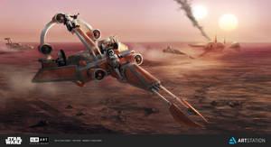 ILM The Ride - Imperial Recon Speeder