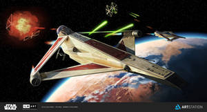 ILM challenge The Ride - Q-Wing