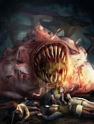 Plague Demon by Elderscroller
