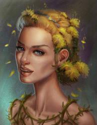 Flowergirl by Elderscroller