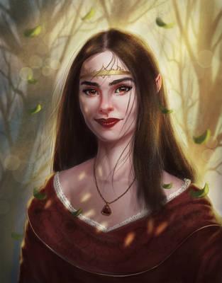 Forest Elf by Elderscroller