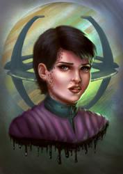 Star Trek DS9: Ezri Dax by Elderscroller