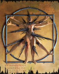 Vitruvian Man - Demonic version