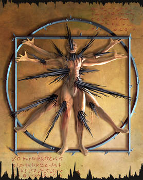 Vitruvian Man - Demonic version