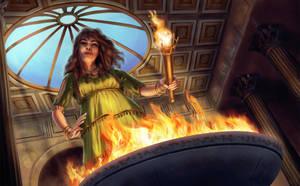 Hestia - Goddess of the Hearth