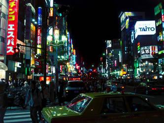 Japanese Street by fuzzyzebra