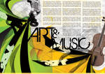 Art Music Poster