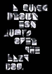 A4 Typeface