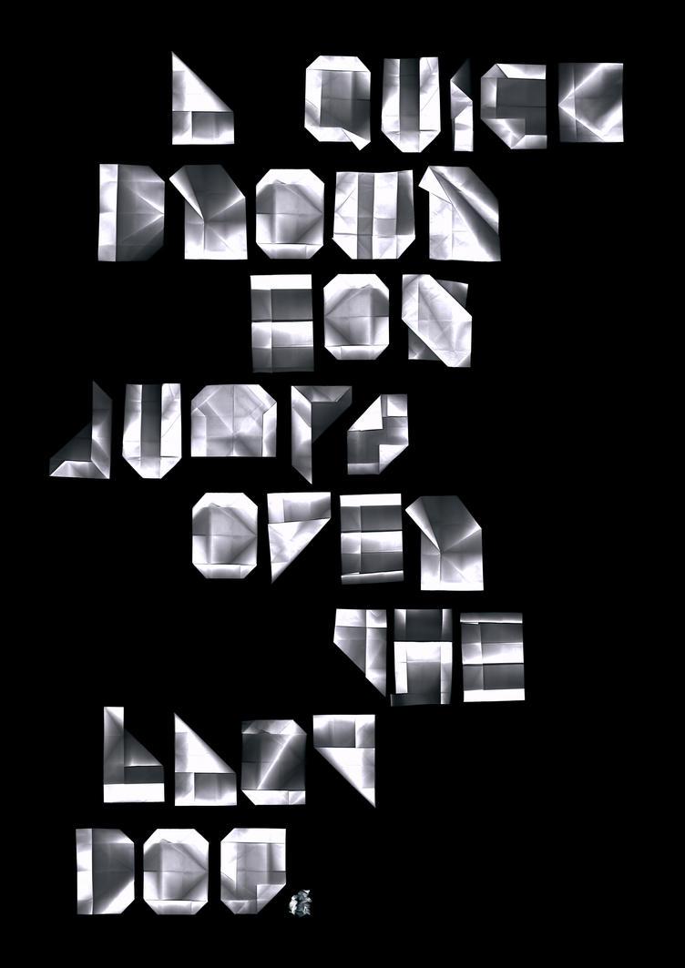 A4 Typeface by fuzzyzebra