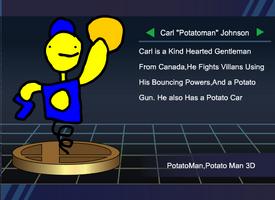 Potato Man Smash Trophy by ElPotatoesDahMahn
