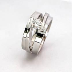 Mans Dia Ring