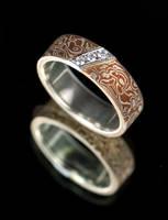 Mokume Gane Ring by carpe0diem