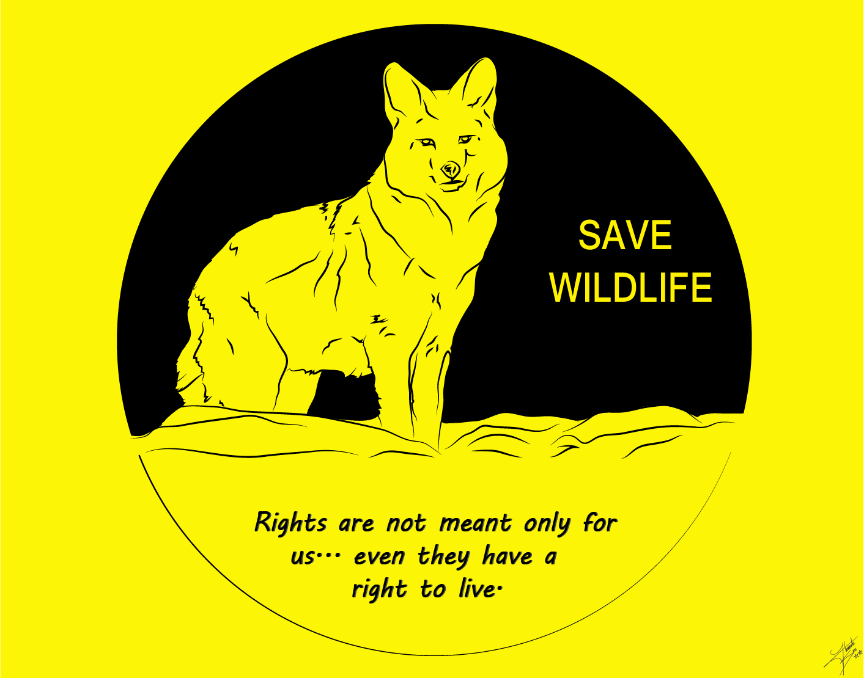 save wildlife, mascot by himanshusoni100 on DeviantArt