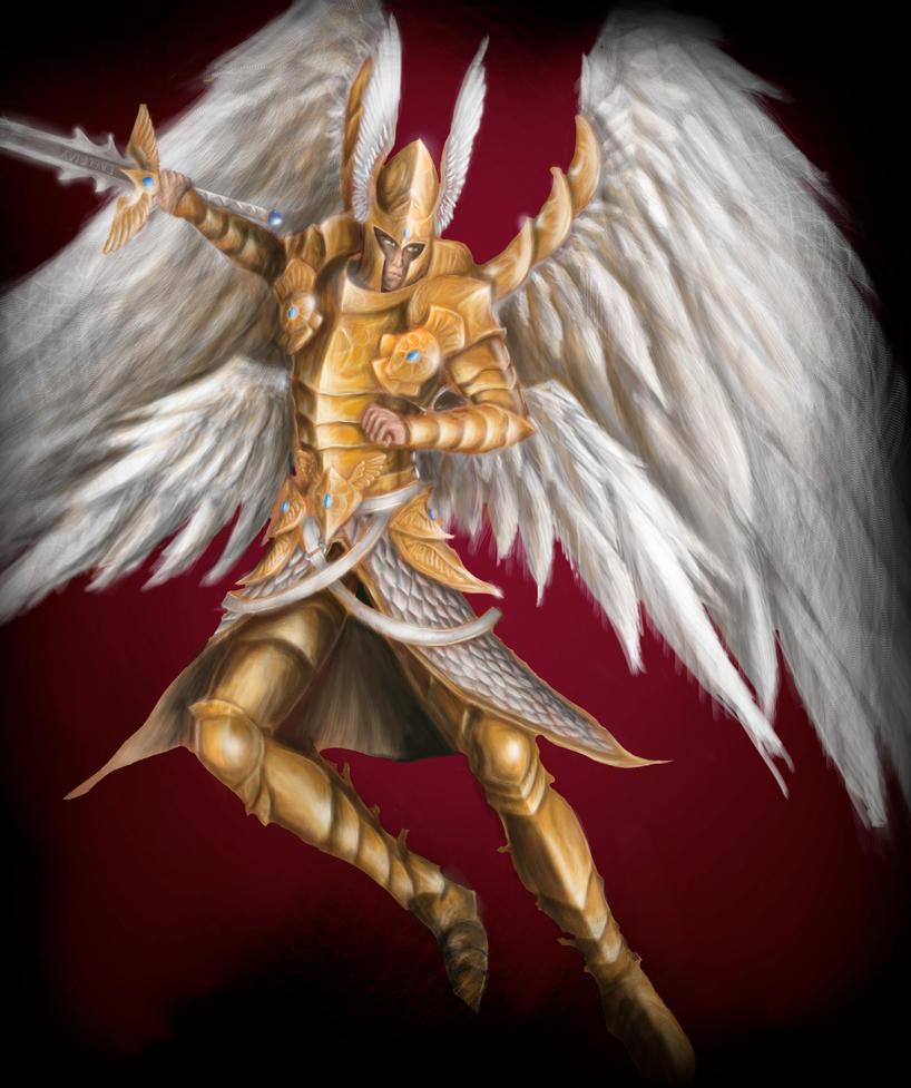 Angelic Arbiter by JSfantasy