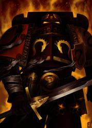 High Grand Master, Dragonatus Enfuriay by John-Stone-Art