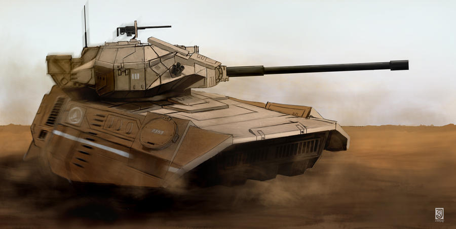 Light Hover tank by JSfantasy
