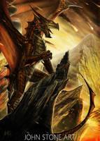 Dragon by John-Stone-Art