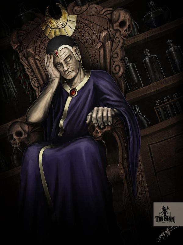 Tinman Games: Old Man Sleeping by JSfantasy