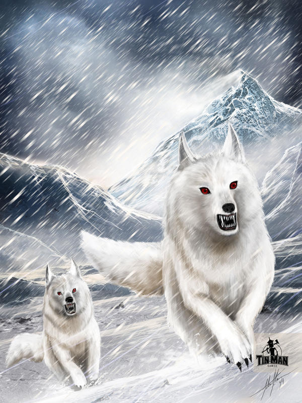 Tinman Games: Snow Wolves by JSfantasy