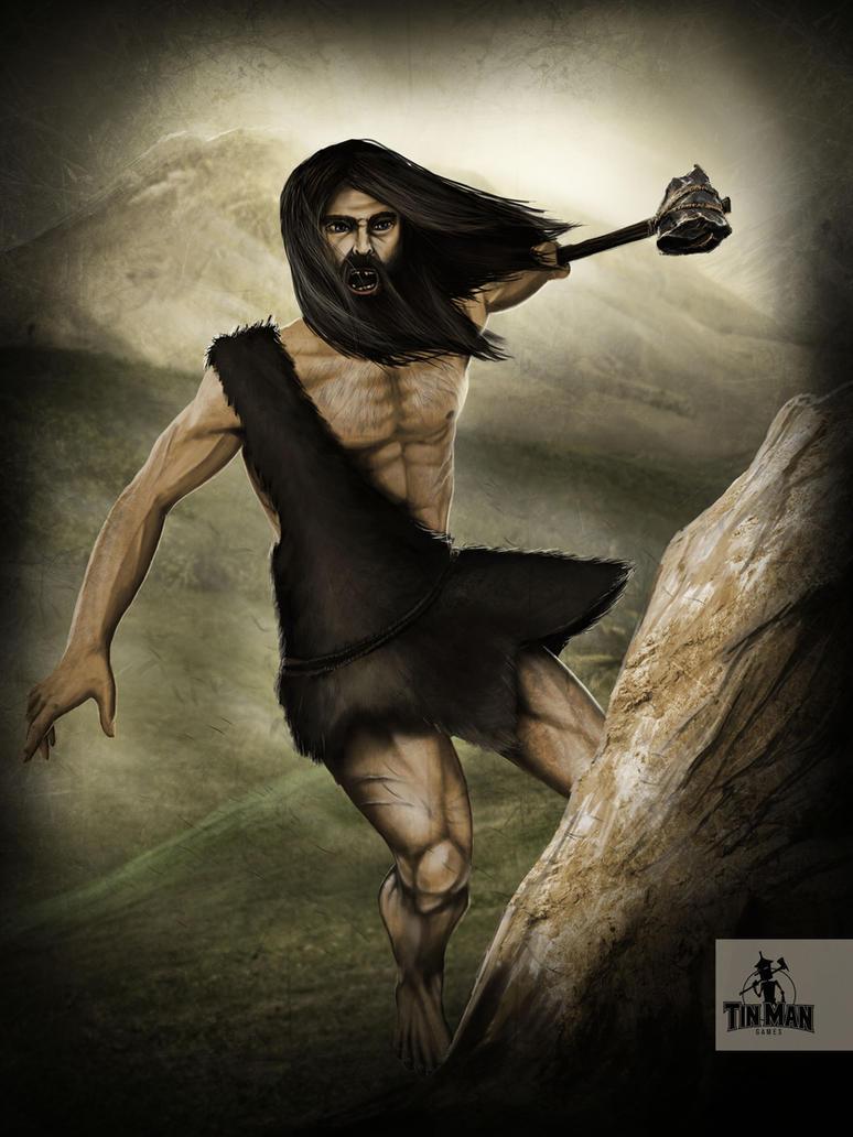 Tinman Games: Wild Hill Man by JSfantasy