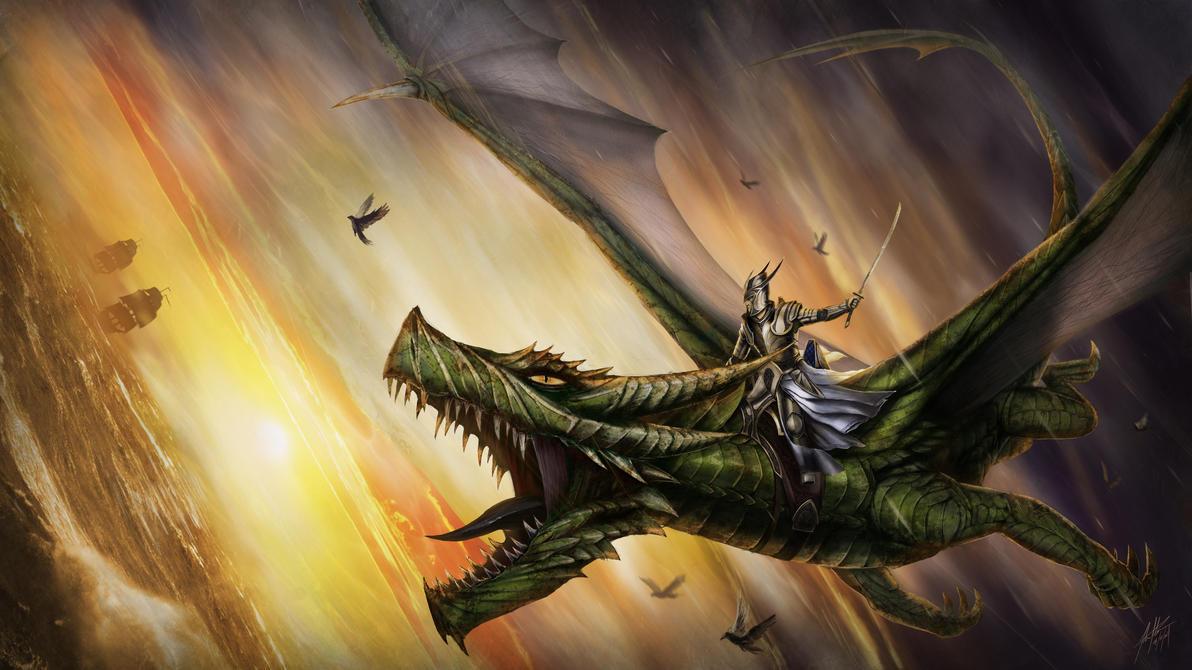 Voltarian Royal Dragon Guard by JSfantasy