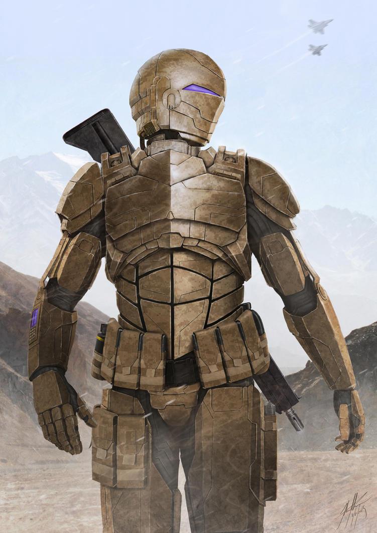 Desert Trooper by JSfantasy