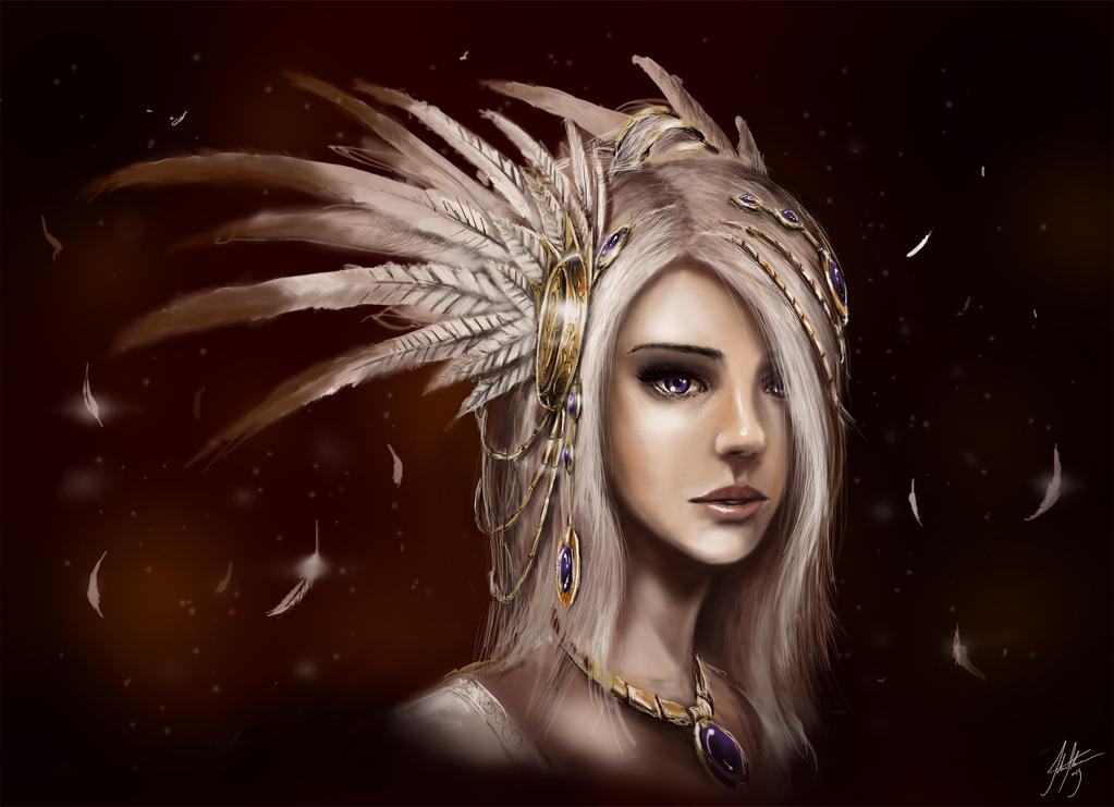 Feathers by John-Stone-Art