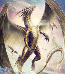Holy Dragon by John-Stone-Art