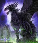 Chaos Dragon by John-Stone-Art