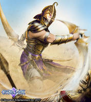 Pero'jin Warrior by John-Stone-Art