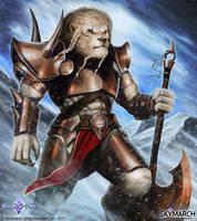 Um'bari Warrior by John-Stone-Art