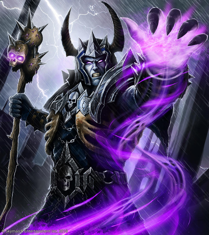 Lich Warlock by John-Stone-Art
