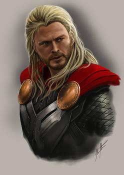 Thor +YouTube Speedpaint