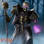 Undead Warlock by John-Stone-Art
