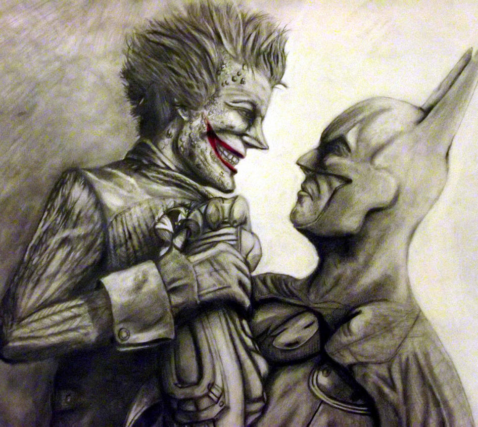 Batman and Joker: Arkham City by diabeticartist on DeviantArt
