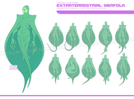 CREATURE: concept sketches