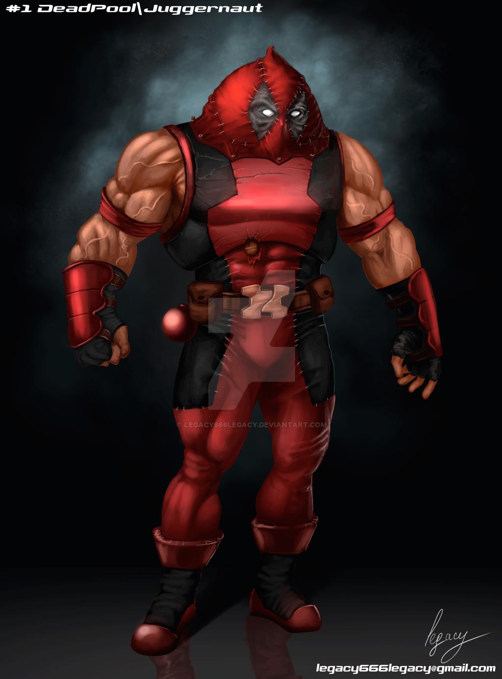 Best Wallpaper Marvel Juggernaut - deadpool_juggernaut_by_legacy666legacy-d98yxrj  Picture_964386.png