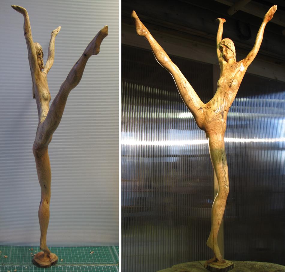 Stick Dancer 2 by carvenaked