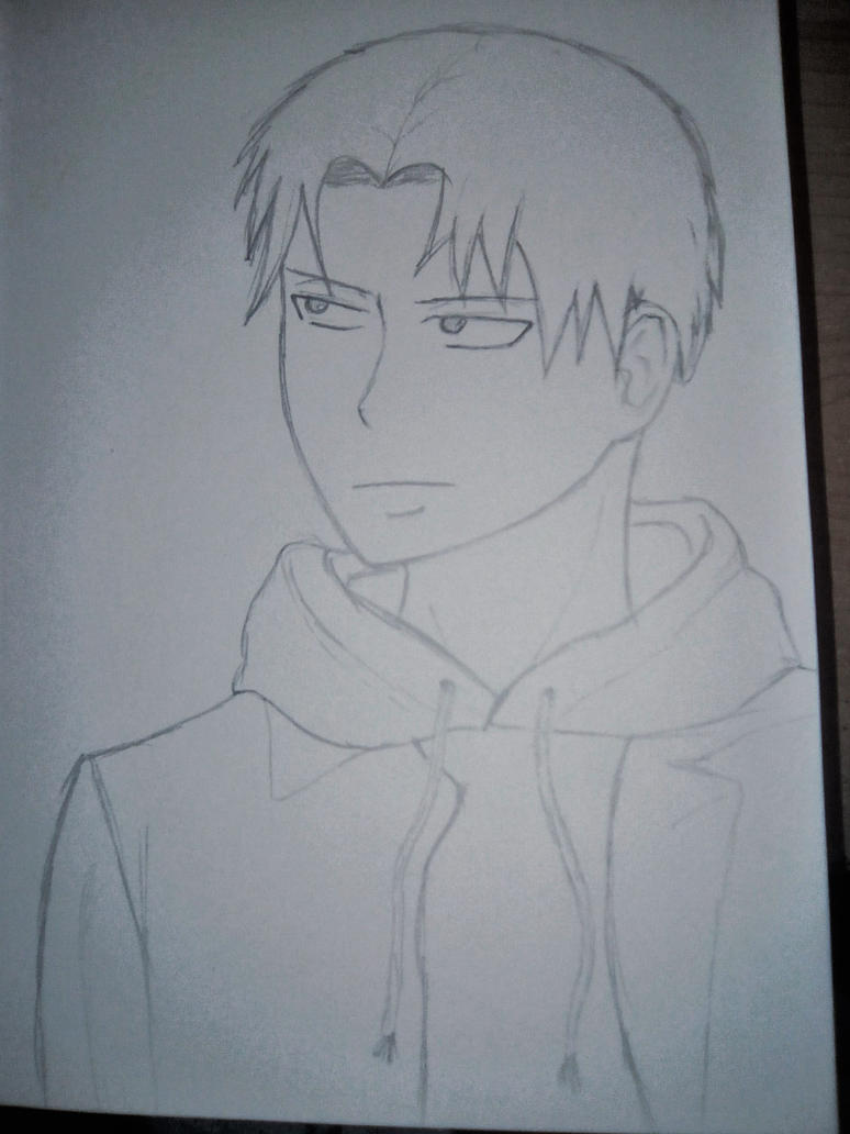 Levi Ackerman - Sketch by Theroseroro