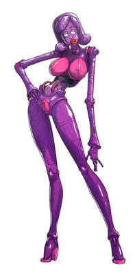 Steel doll. Disco Purple/Pink martini
