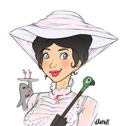 One day, one cutie - 26 Mary Poppins by DavidRaphet