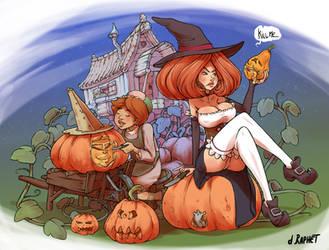 Preparing for Halloween by DavidRaphet