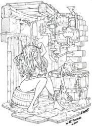 Meenerva's shower